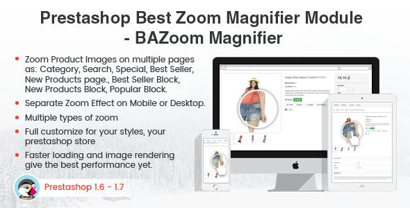 Prestashop Magic Zoom Magnifier Effect Plus Module – Prestips