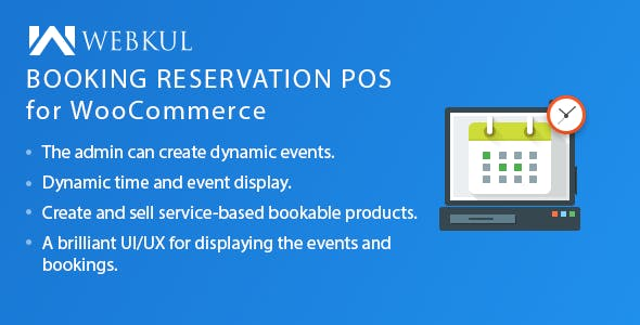 POS Booking Reservation Plugin for WooCommerce - CodeCanyon Item for Sale