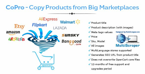 CoPro - Copy Products from Big Marketplaces