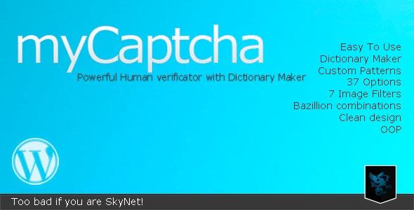 myCaptcha - Powerful Human Verificator - CodeCanyon Item for Sale