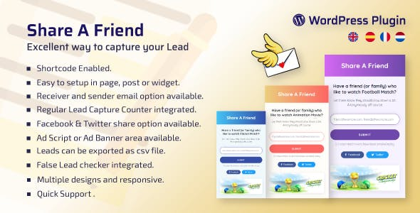 WP Share A Friend