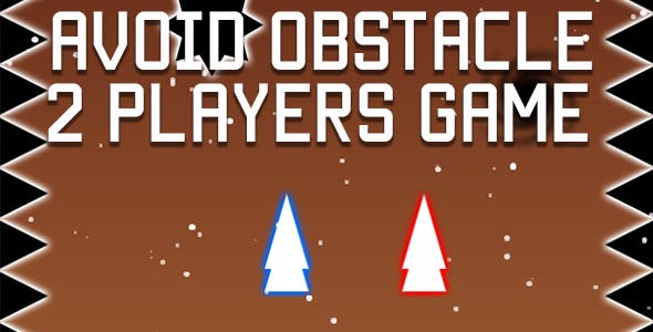 Avoid Obstacle - 2 Players HTML5 Game (CAPX)