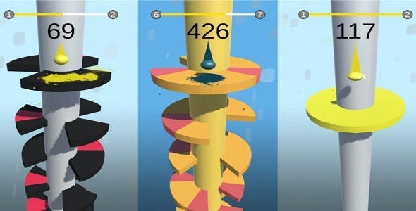 Helix Jump Clone - Full Unity Complete Project with Admob