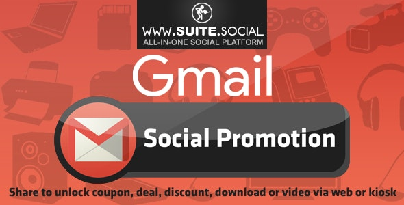 Gmail Promotion: Sharer, Viral and Marketing Social Script - CodeCanyon Item for Sale