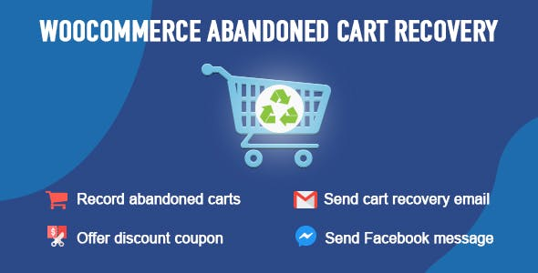 WooCommerce Abandoned Cart Recovery - CodeCanyon Item for Sale