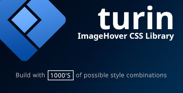 Turin - ImageHover CSS Library - CodeCanyon Item for Sale