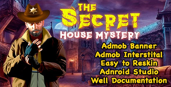 The Secret House Mystery + Hidden Object Game + Admob + Ready For Publish + Android