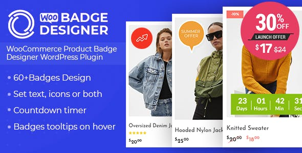 Woo Badge Designer - WooCommerce Product Badge Designer WordPress Plugin - CodeCanyon Item for Sale