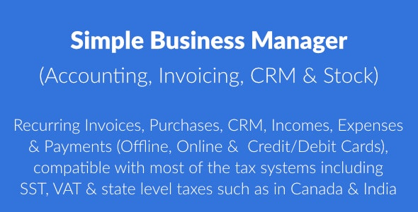 Simple Invoice Manager - Invoicing Made Easy - 1