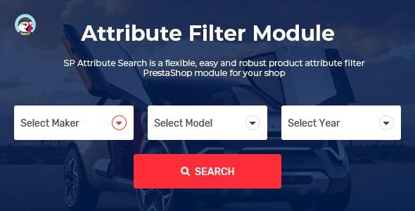 SP Attribute Search - PrestaShop Advanced Filter Product Module