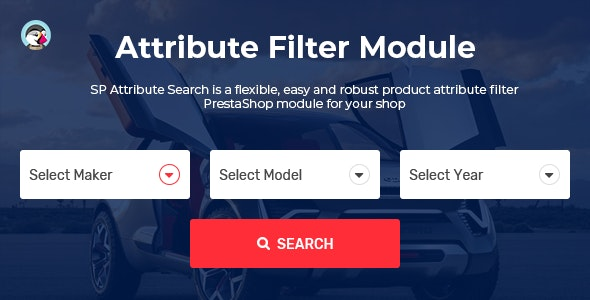 SP Attribute Search - PrestaShop Advanced Filter Product Module - CodeCanyon Item for Sale