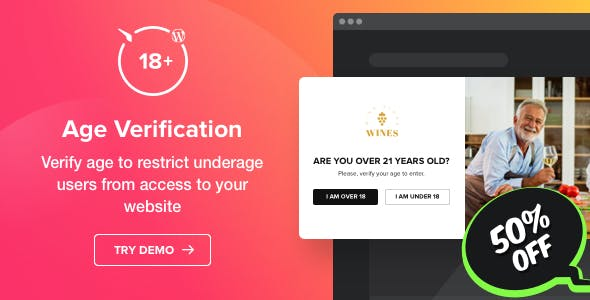Age Verification plugin for WordPress