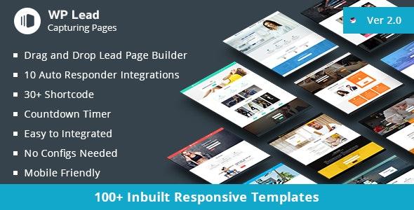 WP Lead Capturing Pages - WordPress Plugin by kamleshyadav | CodeCanyon