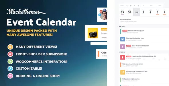 Stachethemes Event Calendar - WordPress Events Calendar Plugin