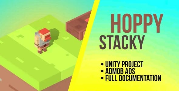 Hoppy Stacky - Unity Project with Admob