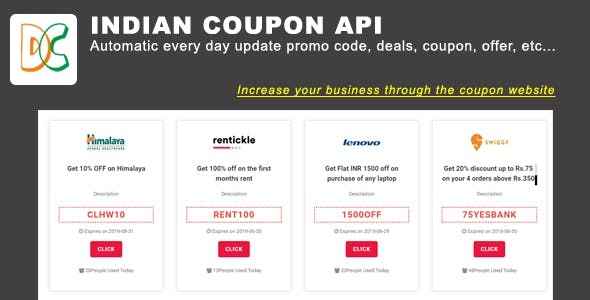 Coupon Code PHP Scripts from CodeCanyon