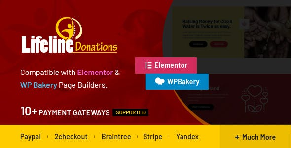 Lifeline Donations - Multidimensional WordPress Donations Plugin - CodeCanyon Item for Sale