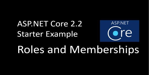 Nice Starter Example - ASP.NET Roles and Memberships