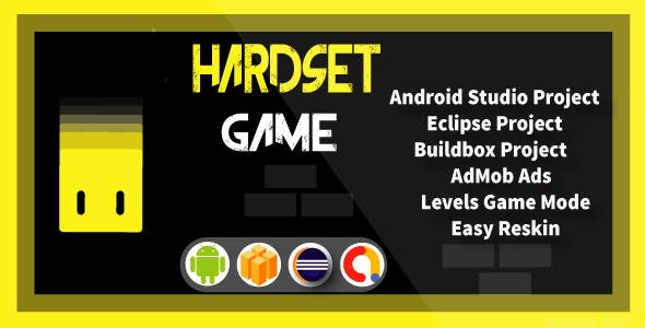 Hardest Game ( Android Project + Eclipse + Admob + Bbdoc )