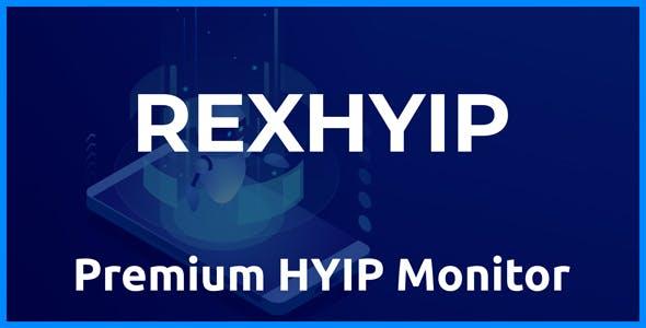 RexHYIP - Premium HYIP Monitor - CodeCanyon Item for Sale