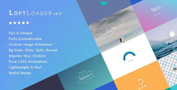 LoftLoader Pro - Preloader Plugin for WordPress by LoftOcean