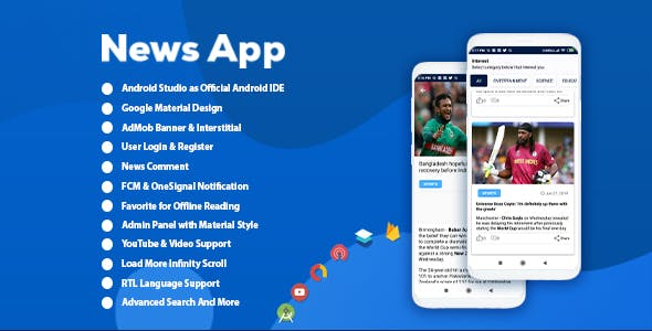 Android Best News App with Admin Panel