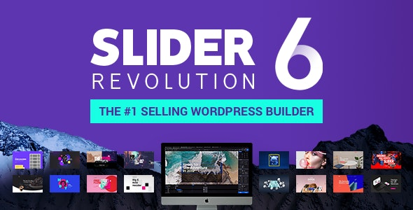 Slider Revolution Responsive WordPress Plugin by themepunch