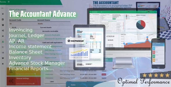 The Accountant Advance - CodeCanyon Item for Sale