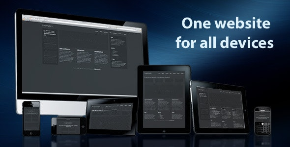 One Website For All Devices - CodeCanyon Item for Sale