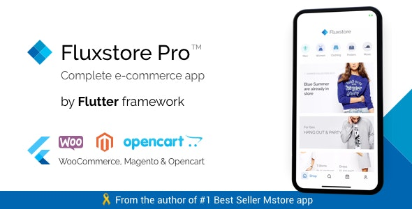 Fluxstore Pro - Flutter E-commerce Full App - CodeCanyon Item for Sale