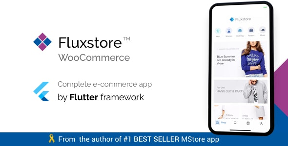 Fluxstore WooCommerce - Flutter E-commerce Full App by