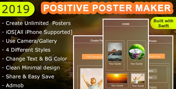 Positive Poster Maker - CodeCanyon Item for Sale
