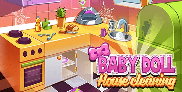 House Cleaning Game - Unity Project - CodeCanyon Item for Sale