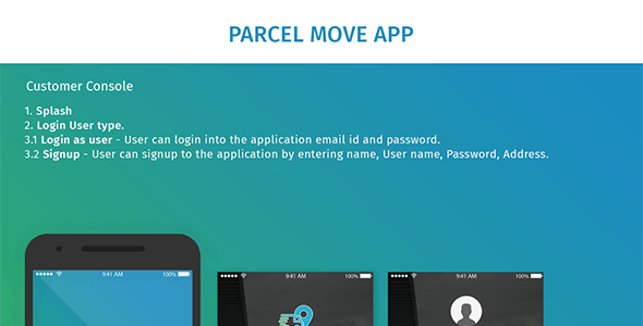Parcel Move Android Template