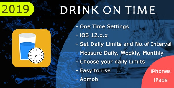 Drink On Time - CodeCanyon Item for Sale