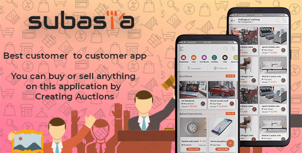 Subasta-Android auction app