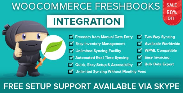 WooCommerce FreshBooks New Integration - CodeCanyon Item for Sale