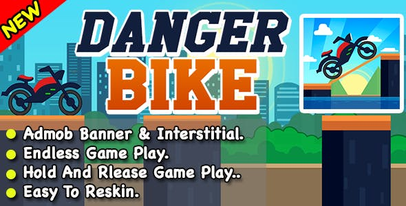 Danger Bike Drive + Ready For Publish + Android Studio