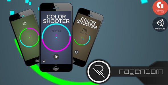 Color Shooter - Complete Unity Game + Admob