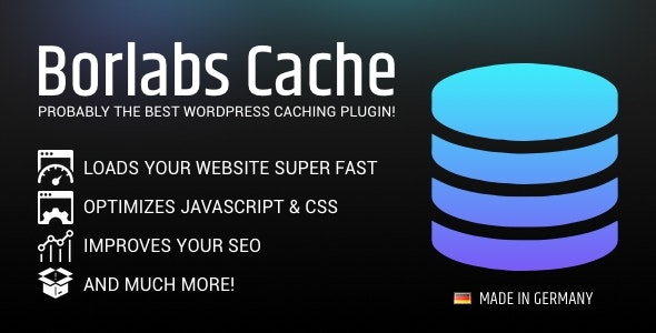 Borlabs Cache - WordPress Caching Plugin - CodeCanyon Item for Sale