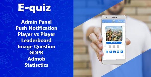 E-Quiz | Admob , Push notification ,GDPR
