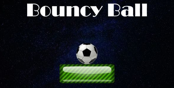 Bouncy Ball - jumping soccer ball platform rush - hypercasual game ready for release