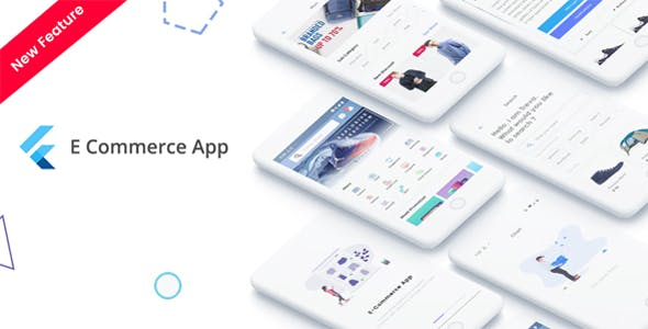 Make A E-commerce App With Mobile App Templates from CodeCanyon