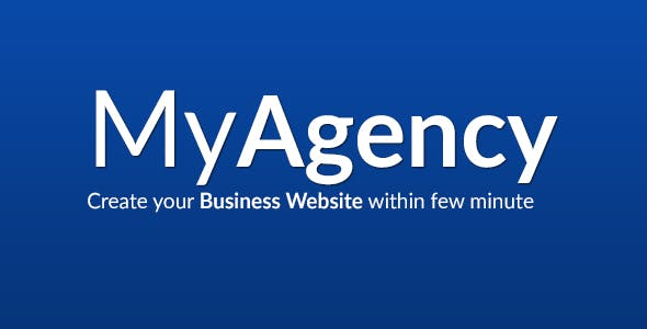 MyAgency - Multipurpose Corporate Business Service Agency Website Management System