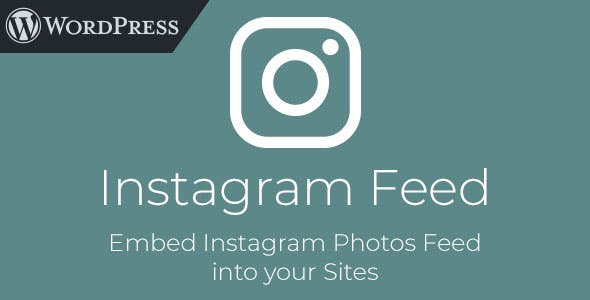 Instagram Feed - WordPress Plugin to Embed Instagram Photos - CodeCanyon Item for Sale