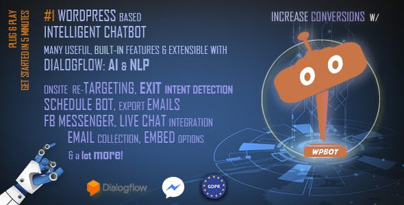 ChatBot for WordPress - CodeCanyon Item for Sale