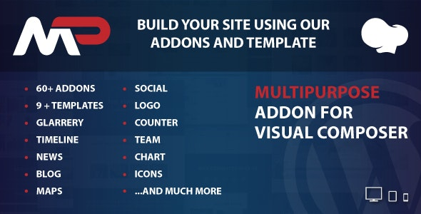 MultiPurpose Addons for WPBakery Page Builder WordPress Plugin - CodeCanyon Item for Sale