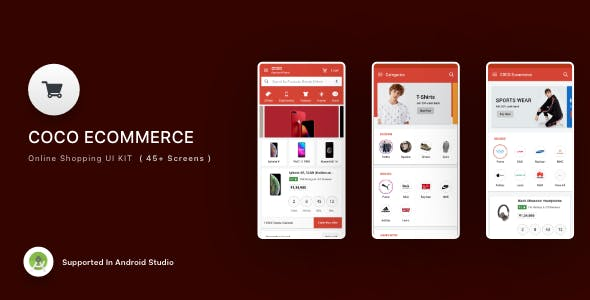Coco E-commerce V2 Android App Templeat