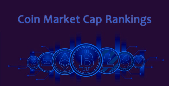 Coin Market Cap Rankings | WordPress Crypto Plugin | Single Page Application - CodeCanyon Item for Sale