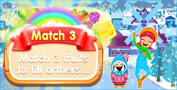 Juice Jam - Match 3 Puzzle